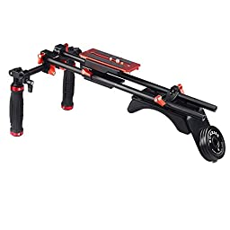 SUNRISE Shoulder Pad DSLR Rigs DSLR Cage Camera Shoulder Stabilizer DSM-802