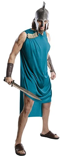 Themistocles Adult Costumes (Themistocles Roman Warrior Costume Adult Toga 300 Rise of an Empire Gladiator)