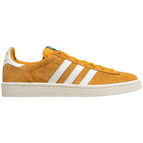 - adidas Mens Campus Suede Yellow White Trainers 11.5 US
