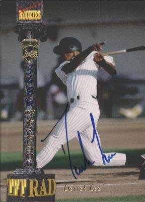 (Autograph 120152 San Diego Padres 1994 Signature Rookies Derrek Lee Autographed Baseball Card)