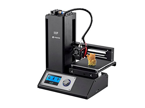 Monoprice Select Mini 3D Printer V2 - Black With Heated (120 x 120 x 120 mm) Build Plate