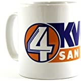 ANCHORMAN: KVWN CHANNEL 4 NEWS Movie Mug by Arcane Store