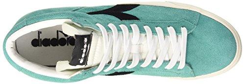 Diadora Tennis 270 S H - Zapatillas de Piel para hombre Azzurro Turchese/Nero