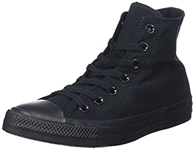 Converse Chuck Taylor Hi Top M9622 Navy (42-43 M EU / 11 B(M) US Women / 9 D(M) US Men, Black)