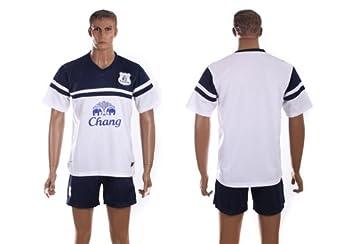 eef44202f 2013-14 Season Premier League Everton Third Kit Men s Football Shirt Suits Soccer  Uniform