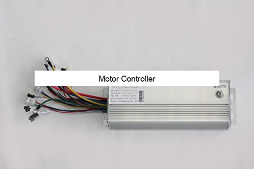 Price comparison product image 48V 60V or 72V Adjustable 1000W Electric Bicycle Scooter Brushless Hub Motor Controller with E-ABS Feature
