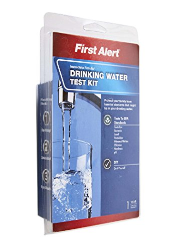 First Alert Wt1 Drinking Water Test Kit Import It All