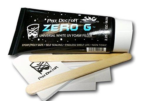 Zero G UV Foam Filler Epoxy/Poly Ding Repair - Surfboard Repair (Repair Foam)