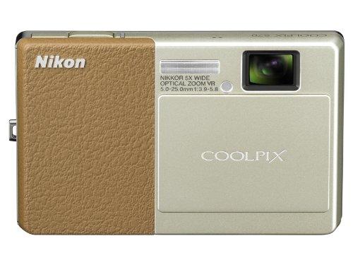 Nikon Digital Camera COOLPIX COOLPIX S70 (Brown) S70LBR - International Version (Coolpix S70 Nikon Point)