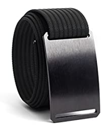 Men's Belt Classic Series, Adjustable Nylon Webbing Strap w/Aluminium Buckle