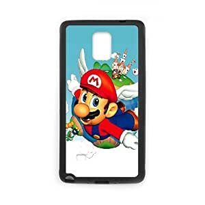 Samsung Galaxy Note 4 Cell Phone Case Black_Super Mario Bros_002 R1B6N