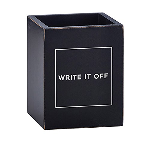 US Gifts Write It Off Pen Holder Empty (Pack of 2)