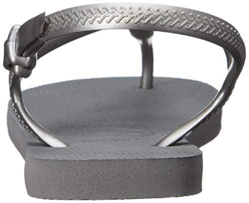 Grey Sandalen Damen Havaianas steel Grey Freedom 6vvOSc