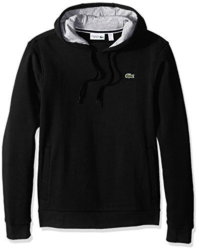 Lacoste Men's Sport Pull Over Hoodie Fleece Sweatshirt, for sale  Delivered anywhere in Canada