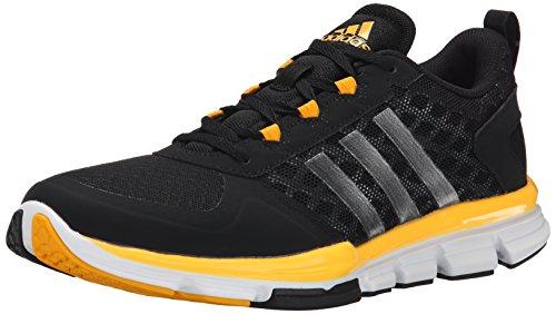 adidas Performance Herren Speed Trainer 2 Trainingsschuh Schwarz / Carbon Metallic / Collegiate Gold