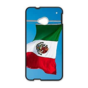 Mexico Flag HTC One M7 Cell Phone Case Black H7884665