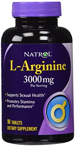 Natrol L-Arginine Dietary Supplement, 3000 mg per …
