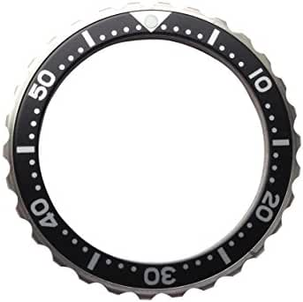 Bezel for Watches Vostok Amphibia Stainless Steel With Aluminum Insert (Black cutter) (13)