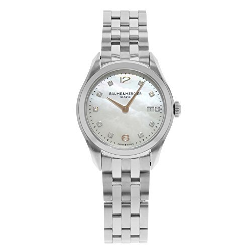 Baume & Mercier Clifton MOA10176 Stainless Steel Quartz Ladies Watch