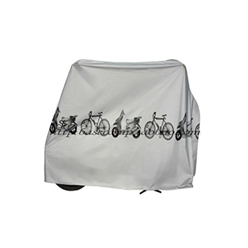 UMFun Large Size Bike Cover Waterproof Bicycle Outdoor Rain Protector for 1 Bike Nylon Bicycle Cover 210x100cm -