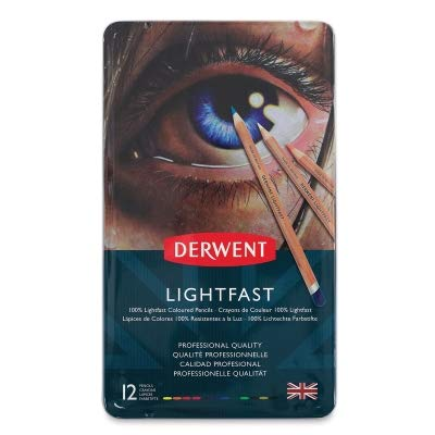 - Derwent Lightfast Pencil - Black