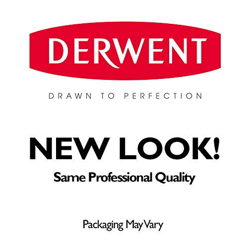 Derwent Tinted Charcoal Pencils, 4mm Core, Metal Tin, 24 Count (2301691) by Derwent (Image #5)