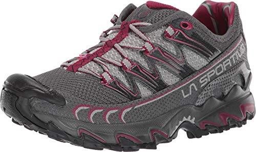 La Sportiva Ultra Raptor Women's Running Shoe, Carbon/Beet, 38.5