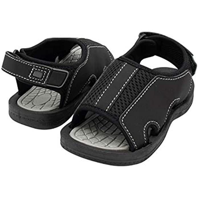 Propel X Mesh Toddler Sandals for Boys, Open Toe Sport Water Shoes Kids Sandals