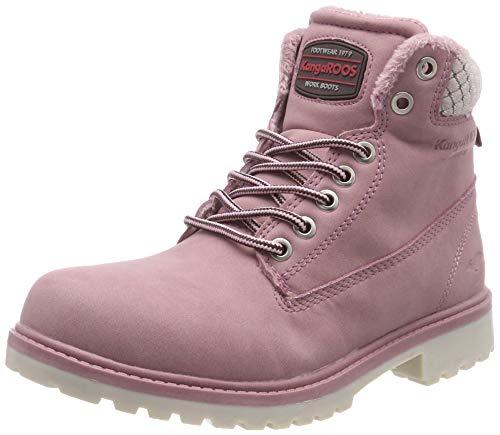 KangaROOS Rot Damen Boots W Riveter Rose Iii Desert g6wTq