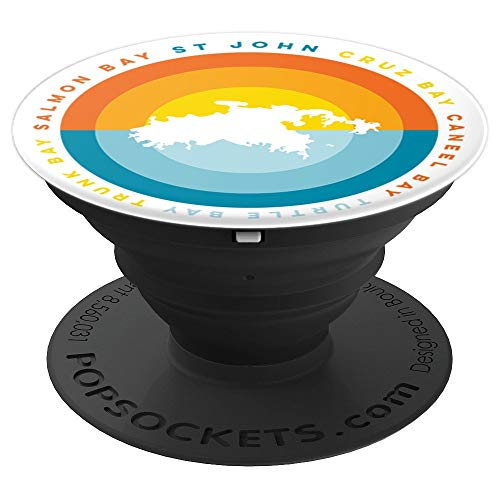 St John USVI Sunset PopSockets Grip - PopSockets Grip and Stand for Phones and Tablets