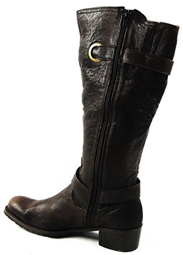 Andrea Conti Winter Stiefel Stiefelette Schuhe Echt Leder Braun 2999-3001
