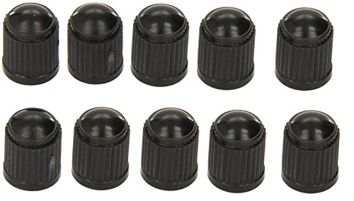 (Royarebar Timeless Glam Ten Pcs Car Bicycle Tire Black Plastic Valve Cap Dust Cover )