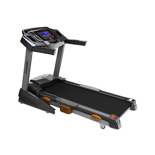 Durafit Heavy Hike Motorized Foldable Treadmill