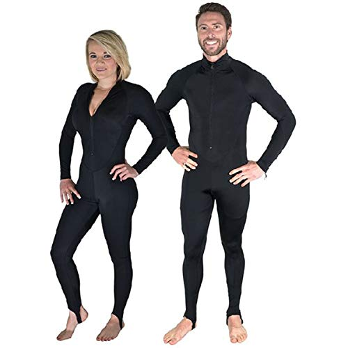 Storm Black Lycra Dive Skin-XX-Large for Scuba Diving Snorkeling and Water Sport ()