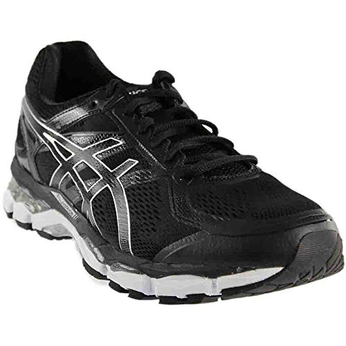 ASICS Men's Gel-Surveyor 5 Running Shoe, Black/Onyx/White, 8 M US