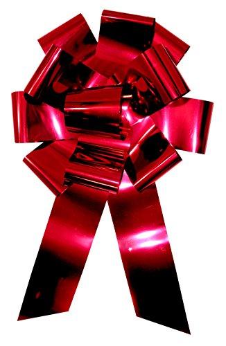 Forum Metallic Car Bow Red