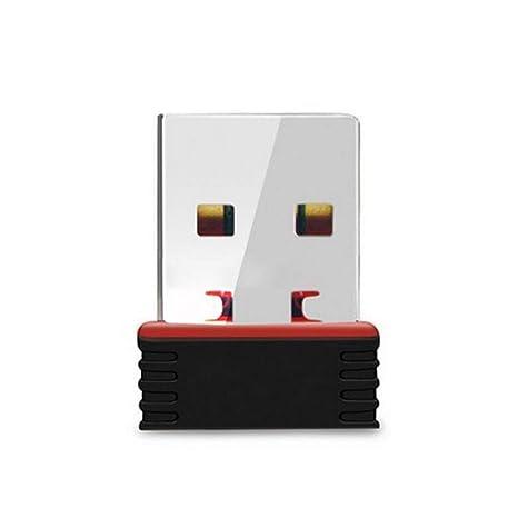 Flushzing WiFi portátil Mini USB inalámbrico Tarjeta de Red ...