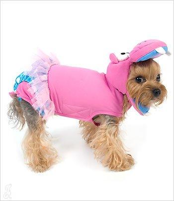 Pink Hippo Costume (2) (Hippo Dog Costume)