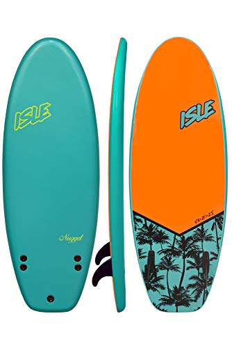 ISLE Nugget 4'11 Soft Top Surf Board Package