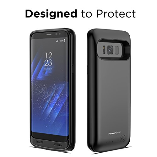 powerbear samsung galaxy s8 plus battery case 5000mah high capacity external battery charger. Black Bedroom Furniture Sets. Home Design Ideas