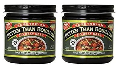 Better Than Bouillon, Bouillon, No Beef Base, Vegetarian, 8 oz (Pack of 2) ()