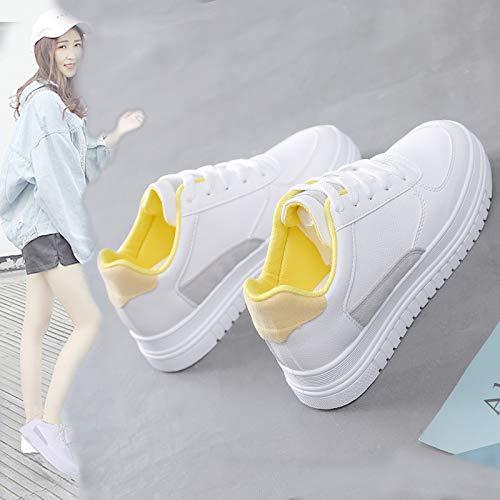 Zapatos Deportivos PU WFCAYDHN Zapatos Casuales nbsp;omen Forty de nbsp;Shoes Artificial Joker Moda W nbsp;'s qZwX4YS