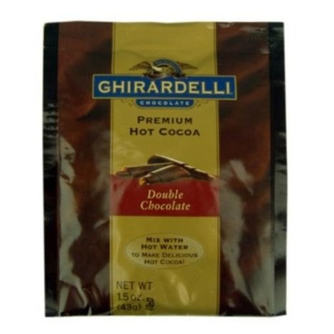 Ghirardelli Premium Indulgence Hot Cocoa Mix, 1.5 oz (Pack of 15) - Hot Chocolate With Cocoa Powder