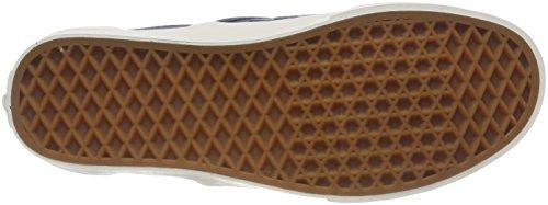 Vans Mens Vintage Slip-on (checker Emboss) Scarpe Vintage Blu