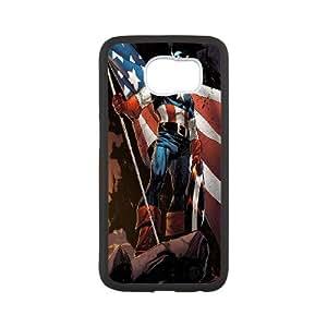 Unique Design -ZE-MIN PHONE CASE For Samsung Galaxy S6 -Caption American Pattern 17