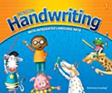 Benson Handwriting with Integrated Language Arts, Vertical Manuscript, Student Edition, PLC Editors Staff, 0789178729