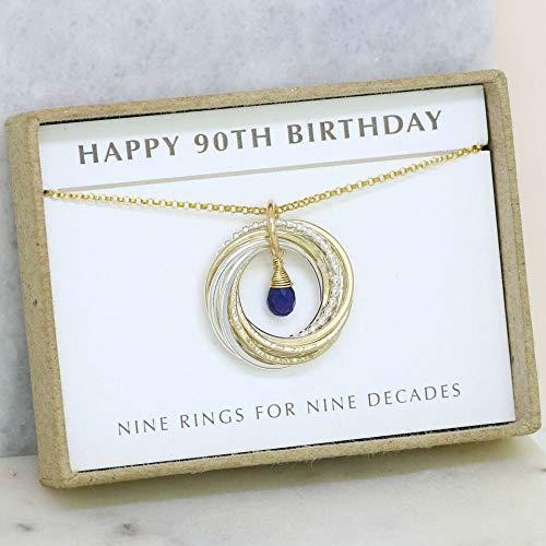 Amazon 90th Birthday Gift Grandma For September
