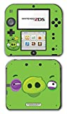 Angry Birds Bad Piggies Space Go Epic Fight Pig Video Game Vinyl Decal Skin Sticker Cover for Nintendo 2DS System Console