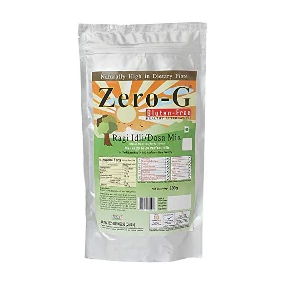 Zero-G Gluten-free Idli/Dosa Mix - Flour for Idli/Dosa (500g Pouch)