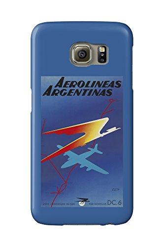 aerolineas-argentinas-vintage-poster-artist-colin-france-c-1950-galaxy-s6-cell-phone-case-slim-barel